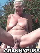 Horny mature slut fucking outdoors