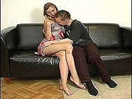 Beautiful 35 y.o. woman gets her ripe pussy and clit licked by her 22 y.o. lover